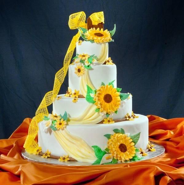 Torte Matrimonio Girasoli : Torta girasoli alla crema di cantalupo la regina delle